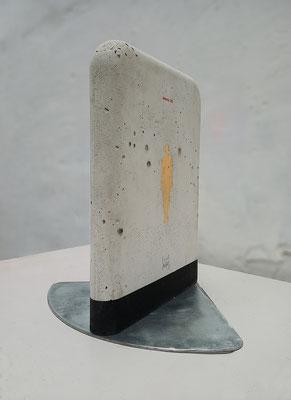 Oriol Texidor | Immersio 237-238 | Concrete, Iron, mixed media | 42 x 30 x 30 cm | € 1.500,-