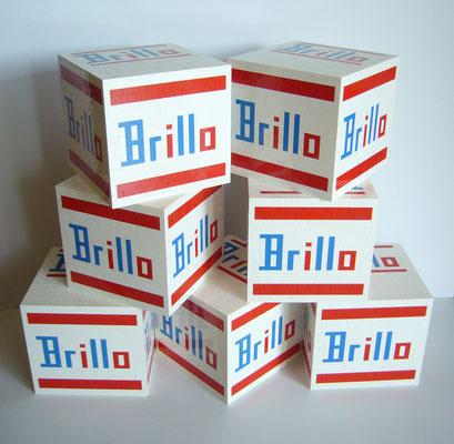 EL EGO 2020 Hommage an Warhol (Brillo box - weiß) | Lego | 16,5x17,5x17,5cm | Edition: 25+1 | € 600,- each