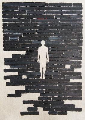 Oriol Texidor | Immersio 176 | Acrylic on Canvas,  | 42 x 30 x 2 cm | € 1.250,-