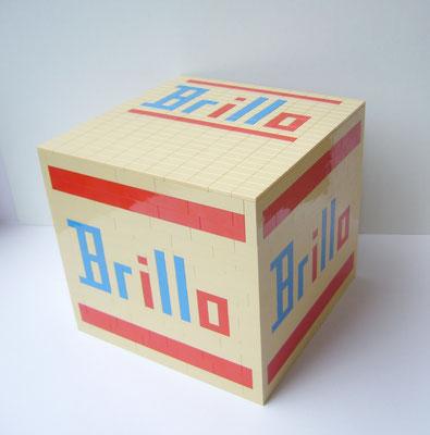 EL EGO 2020 Hommage an Warhol (Brillo box - beige) | Lego | 16,5x17,5x17,5cm | Edition: 25+1 | € 600,- each