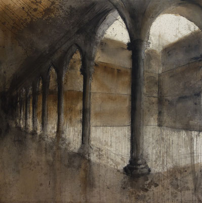Marc Prat | Obertura | Mixed on canvas | 180 x 180 cm | € 3.800,-