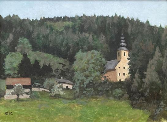 So gesehen vom Kalwanger Maler Carl Kaiblinger