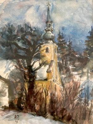 So gesehen von der Kalwanger Künstlerin Annemarie Jobst
