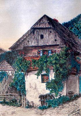 So gesehen vom Kalwanger Karl Ehweiner im Jahre 1925