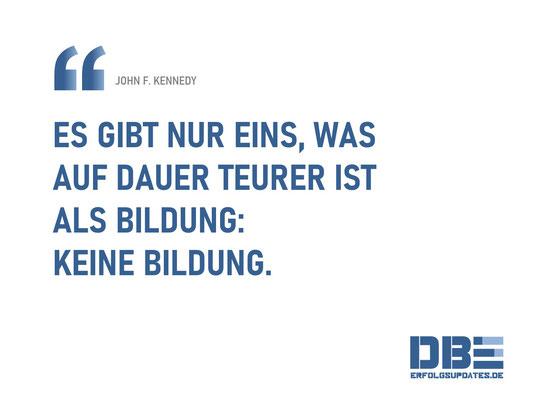 DBE Visual Quotes - Bildung Kennedy