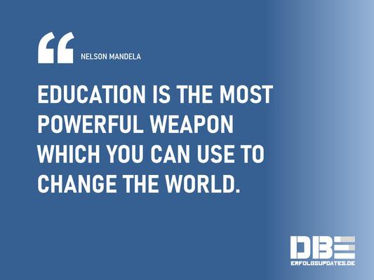 DBE Visual Quotes - Bildung Mandela