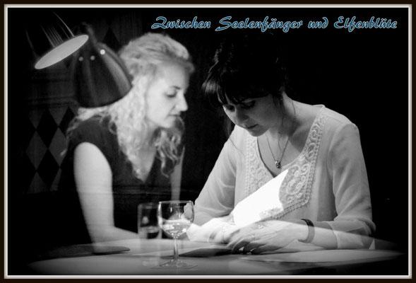 Fantasy-Lesung beim Regensburger Literaturbrettl mit Veronika Mauel, Foto: Günter Lanzl