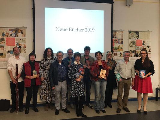 """Lesung """"Neue Bücher"""" in der Stadtbücherei Regensburg mit dem VS Ostbayern"""