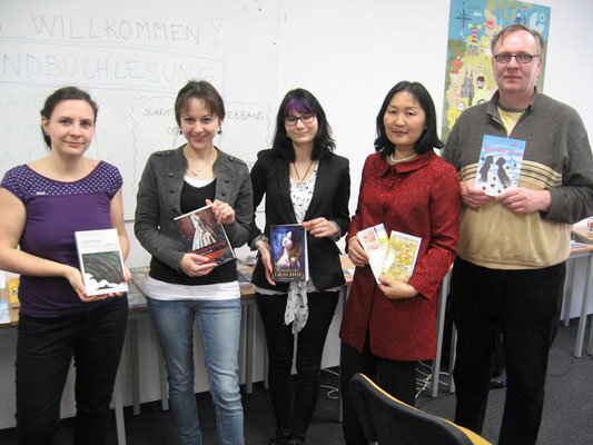 Jugendbuchlesung in Pilsen, Foto: privat