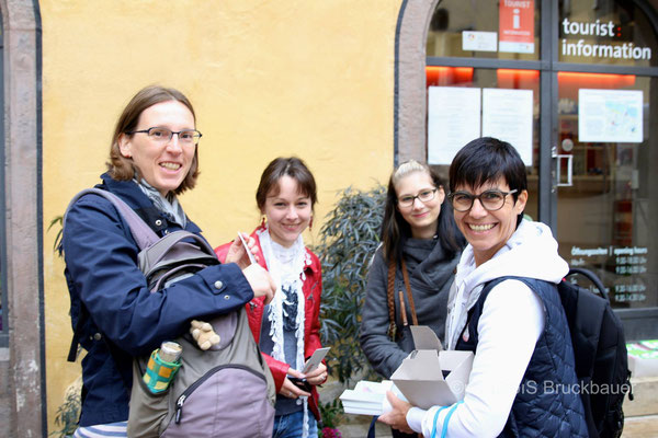 """Projekt """"Literatur in Wanderstiefeln"""", Foto: Siegfried Bruckbauer"""