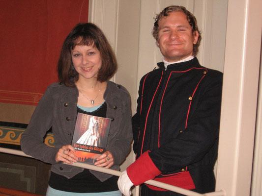 """Buchpräsentation """"Der Soldat des Königs"""" mit Schauspieler Daniel Zimpel, Foto: privat"""