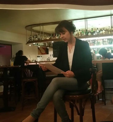 Fantasy-Lesung während der Berchinger Literaturwoche in der Cocktailbar Splash, Foto: Barbara Lerchenberger