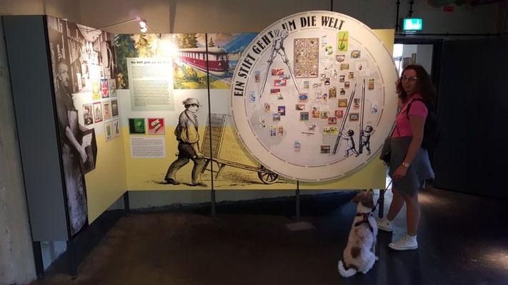 Im Museum...
