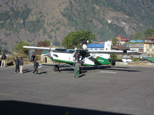 Damals kurz in Nepal im Einsatz: ein Pilatus Porter