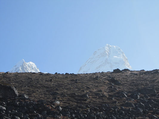 Ama Dablam, am Weg zum Basislager in etwa 4.500 Meter