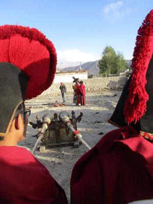 Klosterfest in der Hauptstadt Lo Manthang