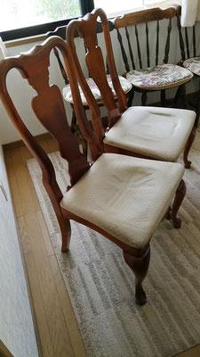 22年も使っているへたり切った椅子。