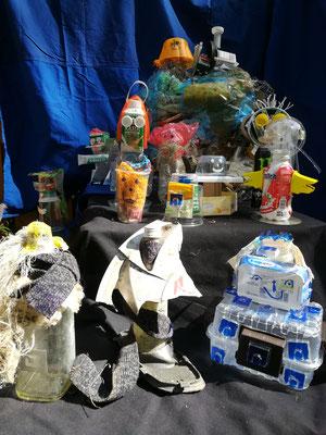 Müllsammelaktion Wurzelkinder Eckental (Foto: Fuchs)