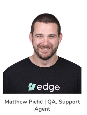 Matthew PichéQA, agente di supporto