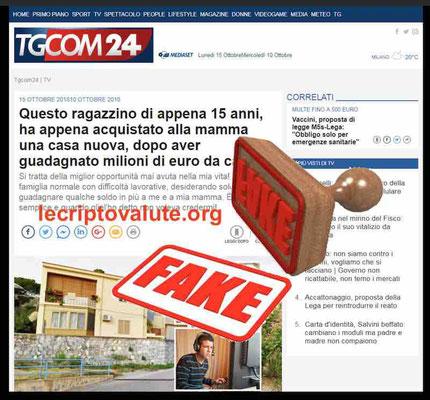 bitcoin compass code mattino 5 truffa