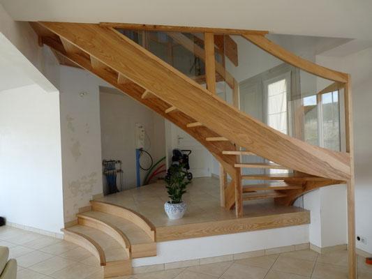 Marty joël, artisan concepteur escaliers sur mesure
