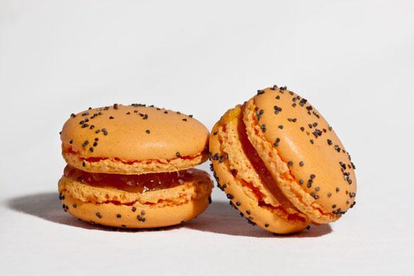 Macaron Clémentine / badiane