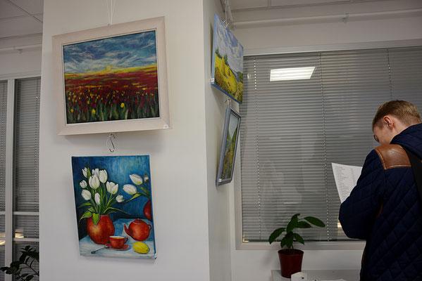 Näitus Pärnu Haigla galeriis