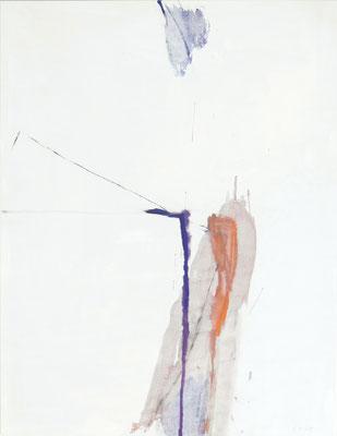 O.T. , 110 x 90 cm, Tempera auf Holz, 2019