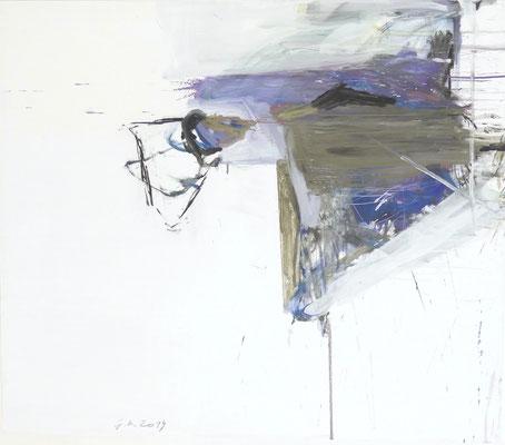 O.T. , 150 x130 cm, Mischtechnik auf Holz, 2029