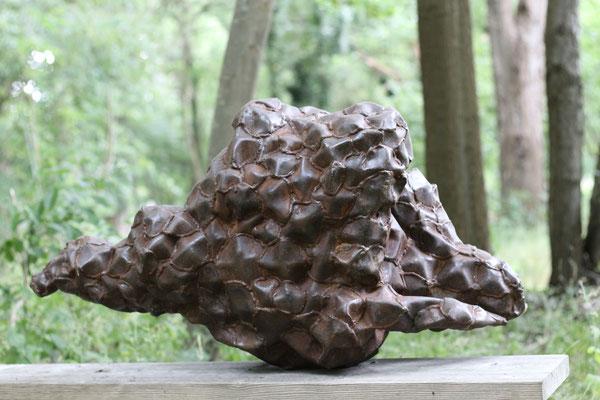 David Vanorbeek kunst tuin park metaal abstract beeld