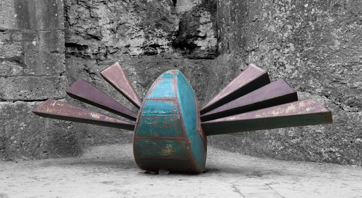 sculpture monumentale David Vanorbeek