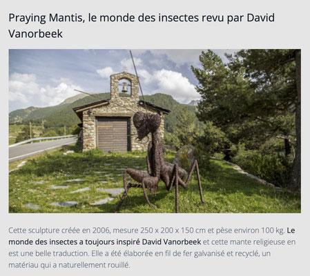Praying Mantis / Sculpture Monumentale