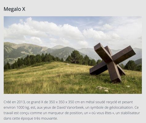 Mégalo X / Sculpture Monumentale