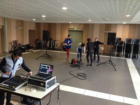 Travaux Pratiques mixage sur console analogique
