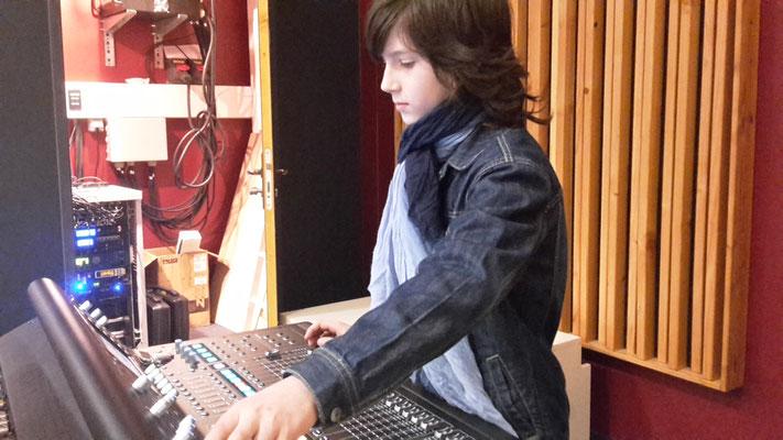 Formation mixage sur console numérique