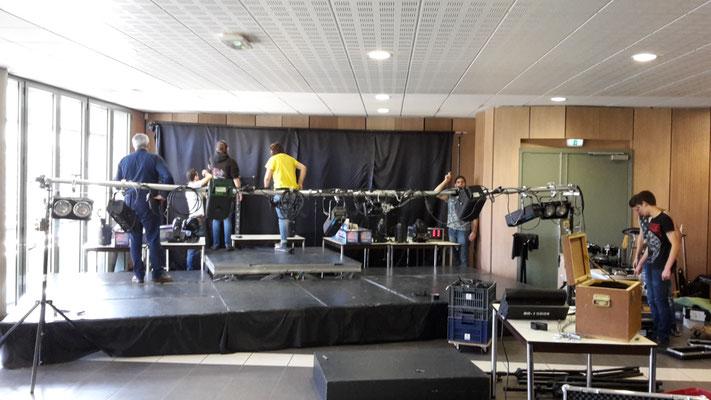 Jour 4 : installation technique du concert
