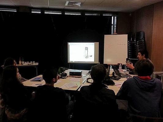 Jour de formation n°1 : différentes technologies de micros