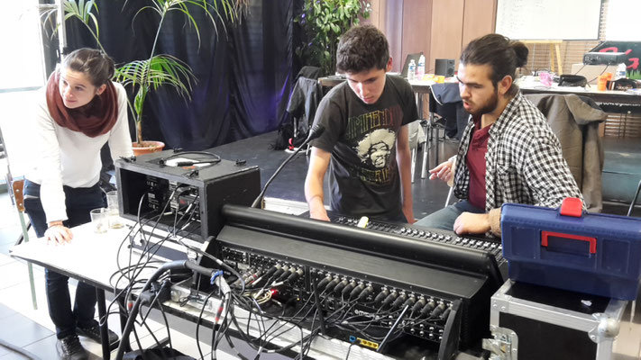 Travaux Pratiques mixage sur console numérique