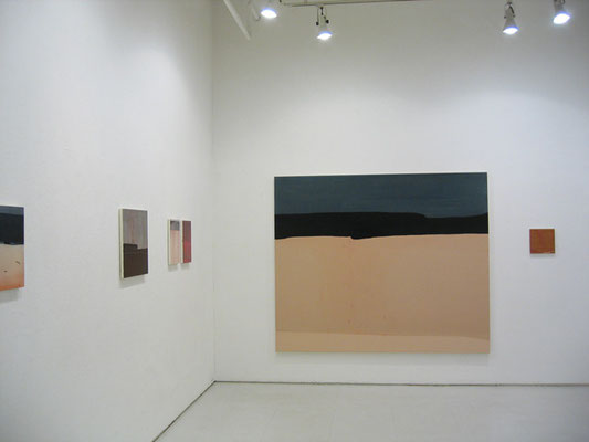 水村綾子展 〜鳥の声に空を見上げる〜 2005    ギャラリー山口(東京) 展示風景