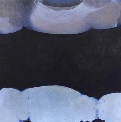 『note』 2013 80.3cm×80.3cm  キャンバス 油彩