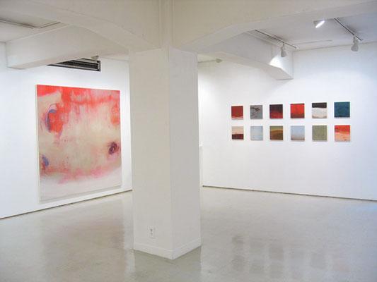 水村綾子展 -loophole- 2007 ギャラリー山口(東京) 展示風景