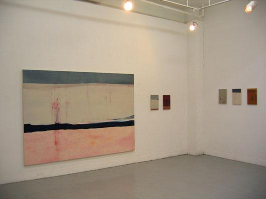 水村綾子展 〜穏やかに吹く風〜 2004    exhibit LIVE [laiv](東京) 展示風景