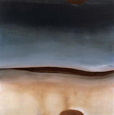 『 outside 』 2007 194.5cm×194.5cm キャンバス 油彩