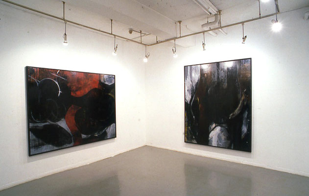 水村綾子個展 1994    Gallery Q (東京) 展示風景