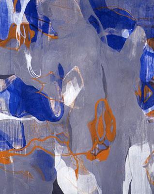 『 母語 』 1999   227.3cm×182.0cm   キャンバス 油彩