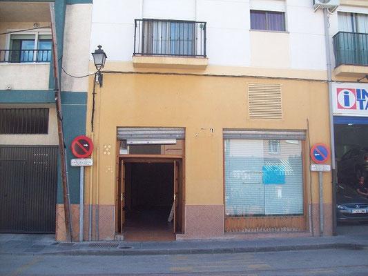 Legalización de tienda en la Zubia (Granada)