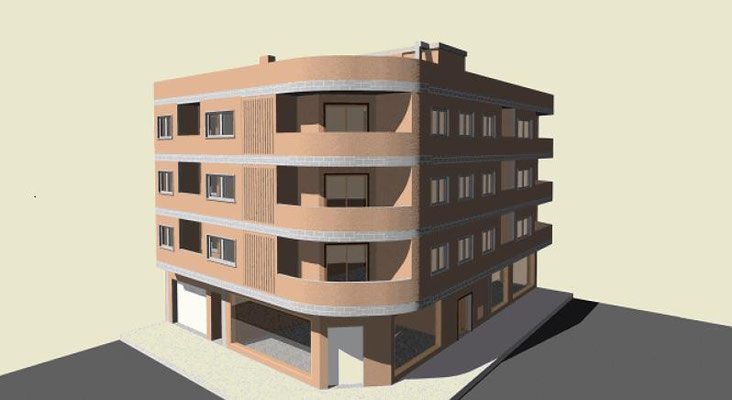 Cálculo de estructuras e instalaciones para un edificio de viviendas en Marbella (Málaga)