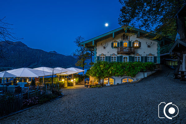 Hotelfotografie in und um das familiengeführte 4 Sterne Hotel und Hotelrestaurant Leeberghof oberhalb des Tegernsee im Herbst