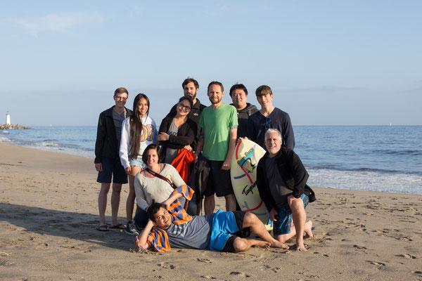 L'équipe Jimdo USA lors d'un séminaire Team-Building à San Francisco