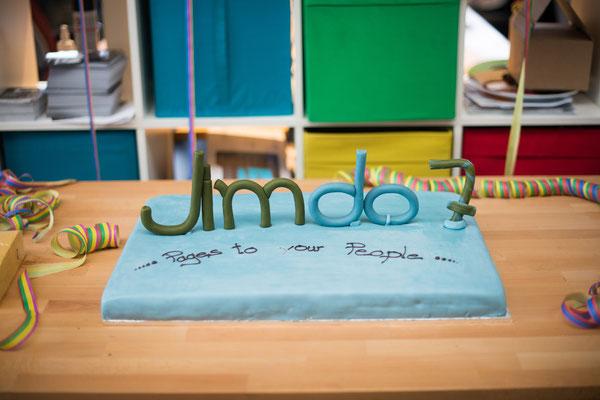 Les 7 ans de Jimdo, il y a un an !